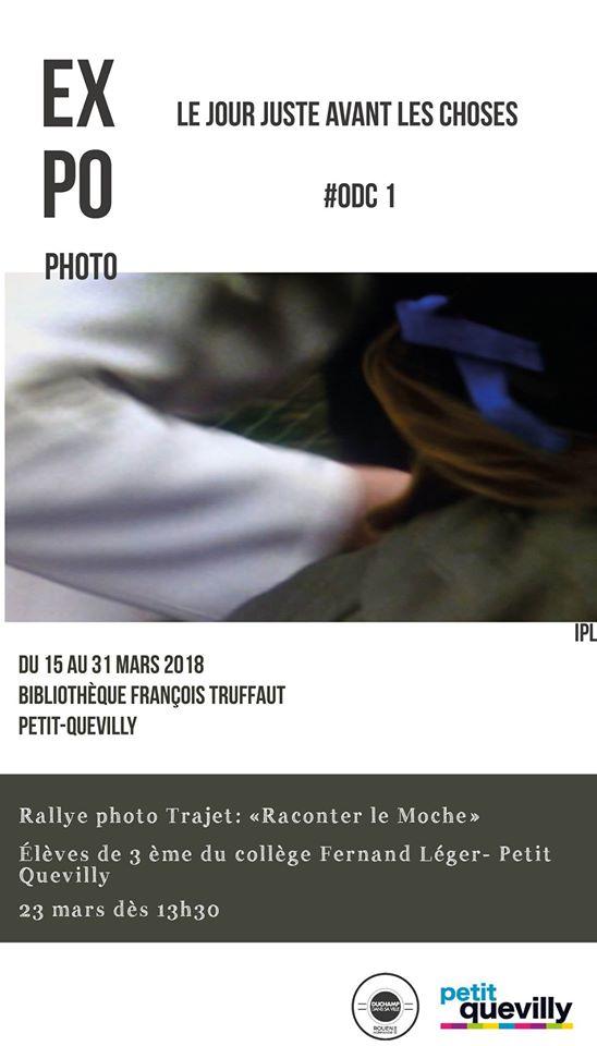 affiche exposition IPL bibliothèque François Truffaut